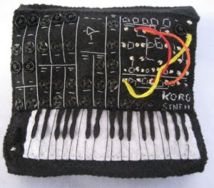 Korg MS 20 melting in monomania